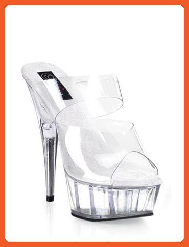 f9f20cf75b3 Clear Double Banded Platform Slip On Sandal - 12 - Sandals for women  ( Amazon Partner-Link)