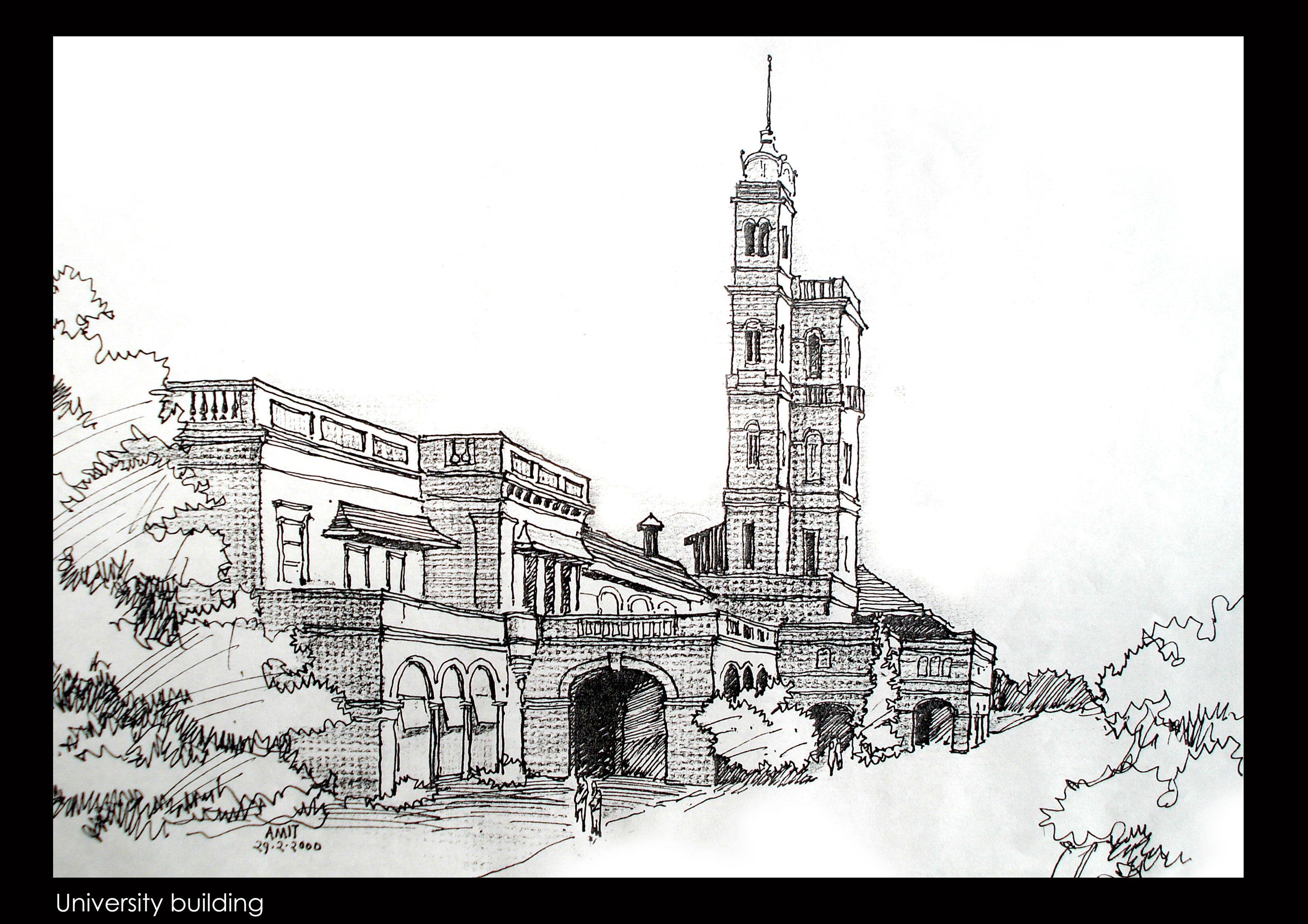 Image result for pune shaniwar wada skyline pune sketching skyline sketch sketches