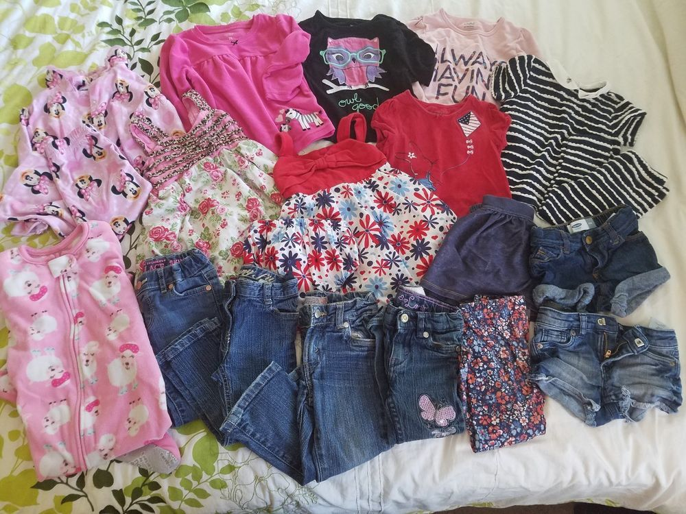 6bf0a6af5 Lot of Girls Size 2t Clothes (20 Pieces) - Used in Grear Condition ...