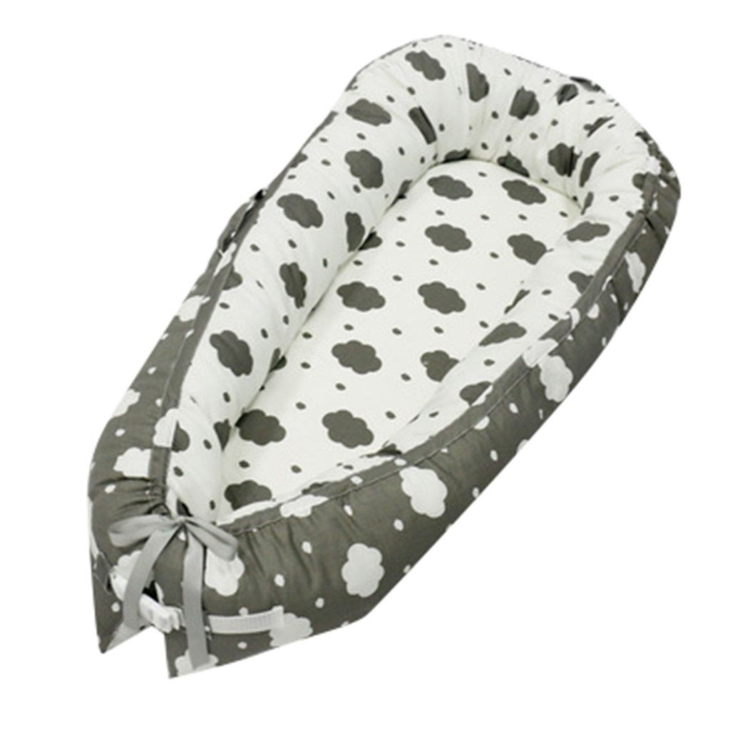 New Washable Baby Nest Bed Sleeper Co Pod Newborn Snuggle Crib Bed Toddler Cot