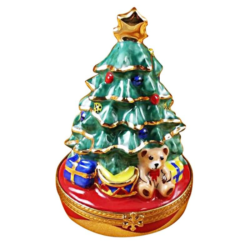 Christmas Tree With Gifts Limoges Import Boxes Christmas Christmas Tree With Giftschristmas Tre Christmas Tree With Gifts Limoges Boxes Christmas Collectibles