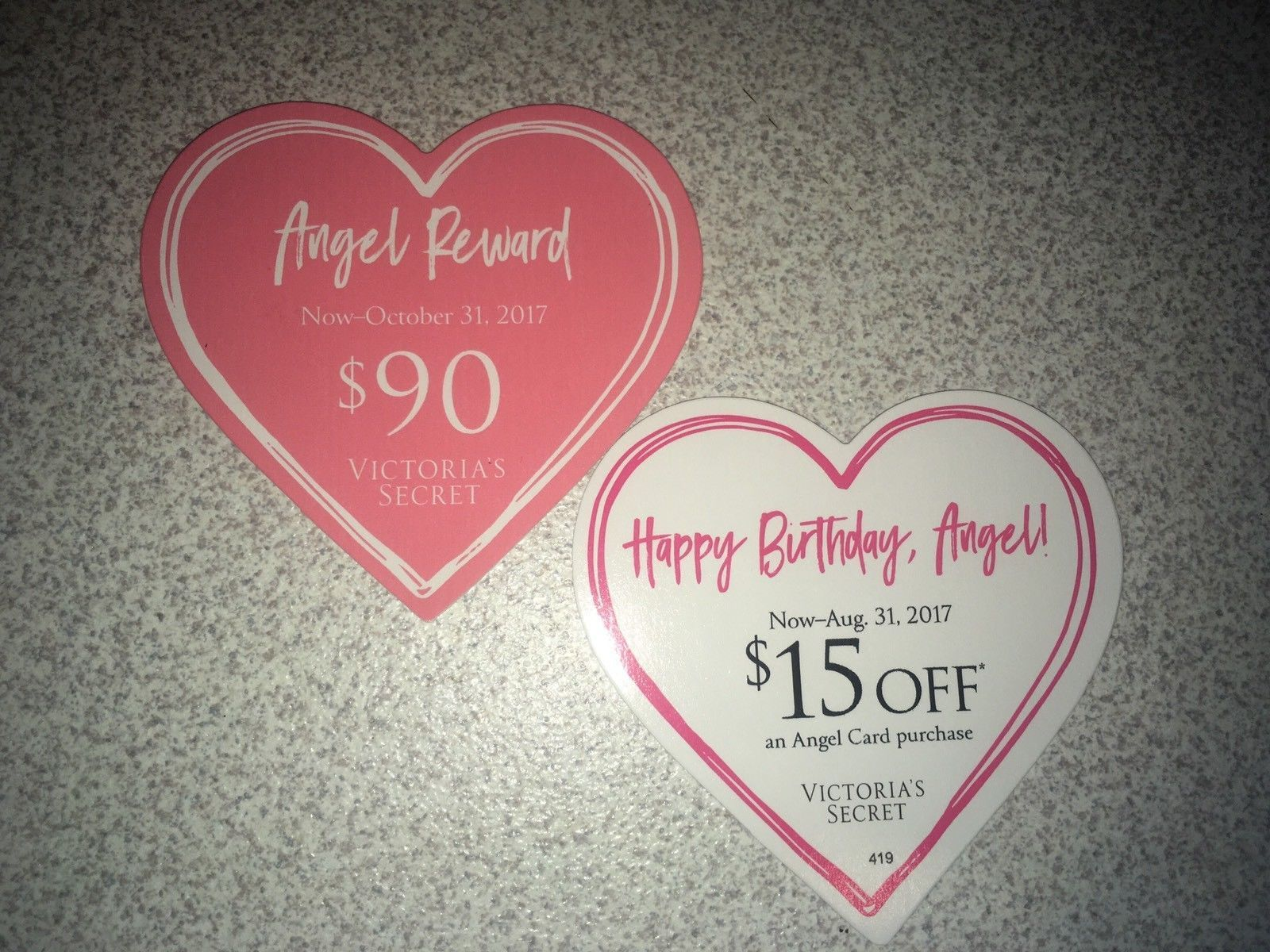 Nice Victoria S Secret Angel Happy Birthday Reward 105 Value In
