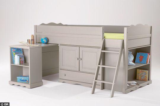 chambre d 39 enfant lit malin pour enfants coquins lits mezzanine bed bed et bunk beds. Black Bedroom Furniture Sets. Home Design Ideas