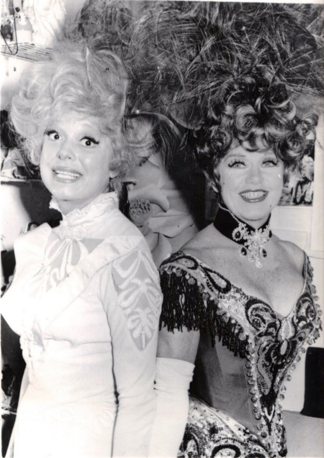 Ginger taking over for Carol Channing in Hello, Dolly!