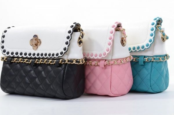 Women's #Fashion #Bags: #Purses, Clutches, Handbags, and Totes: Quilted Faux Leather Chain #Retro Crossbody Clutch Purse