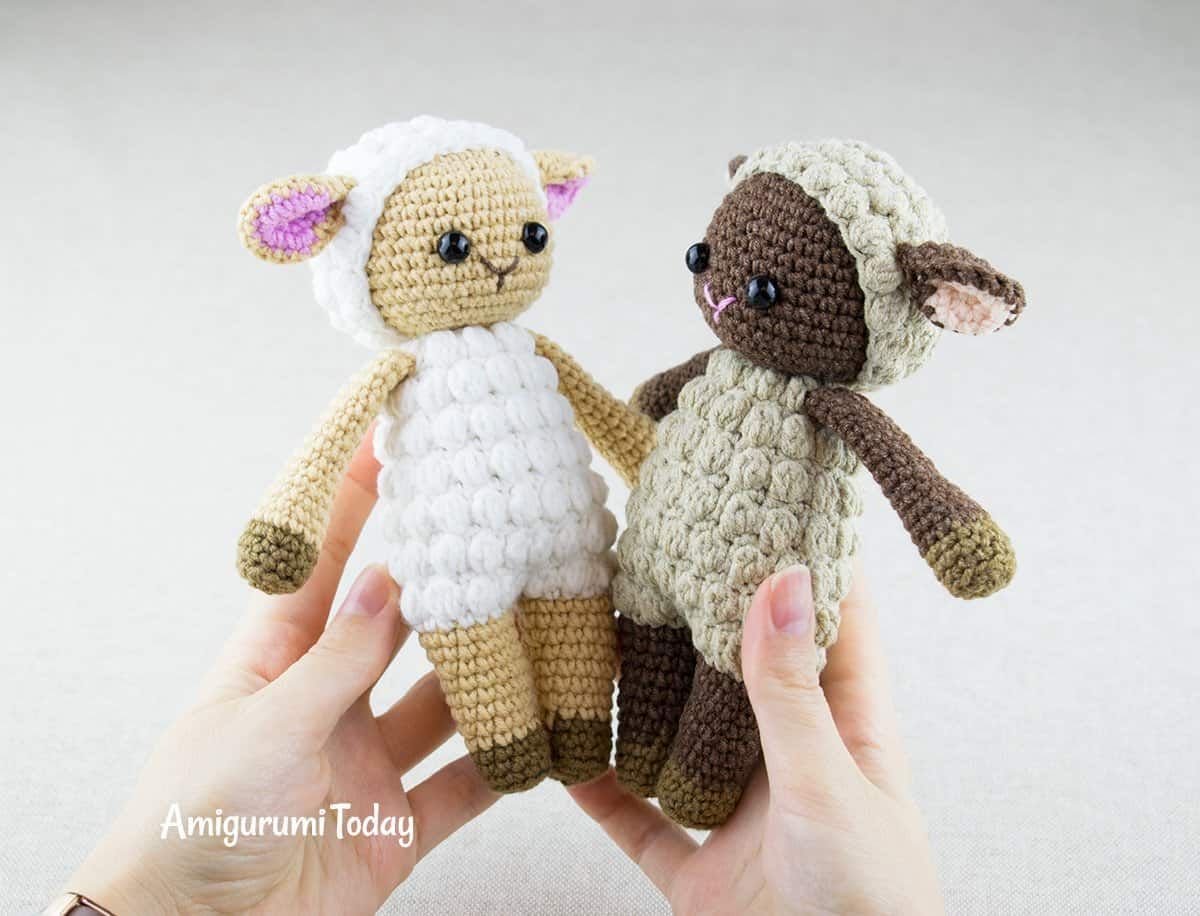 Cuddle Me Sheep pattern by Amigurumi Today   Amigurumi   Pinterest ...