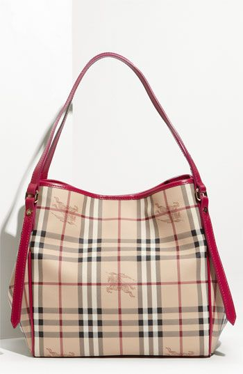 01b786fc53 Burberry 'Haymarket Check' Tote available at Nordstrom PINK ...
