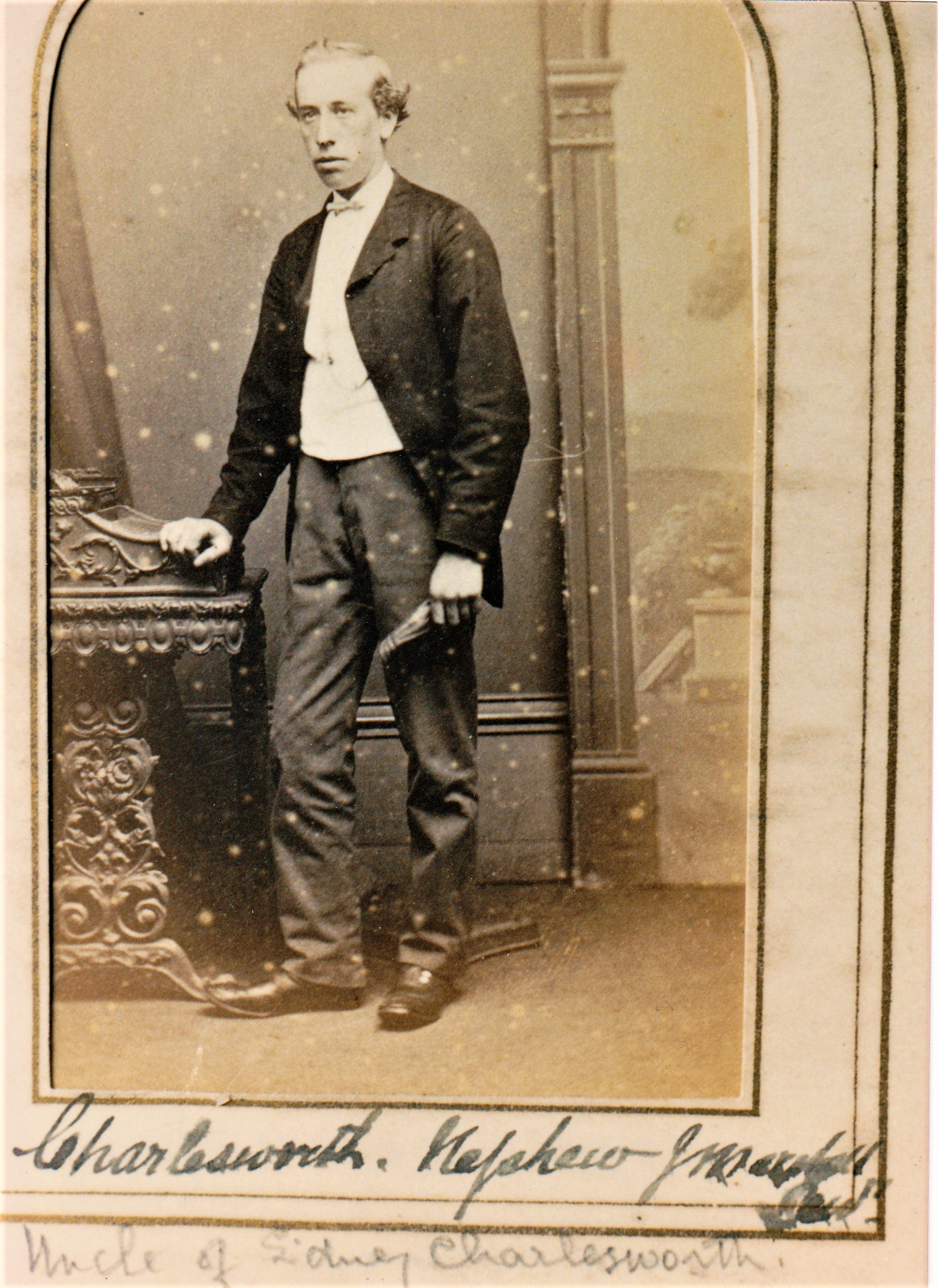 William Charlesworth ( born 1845, married Mary Hannah