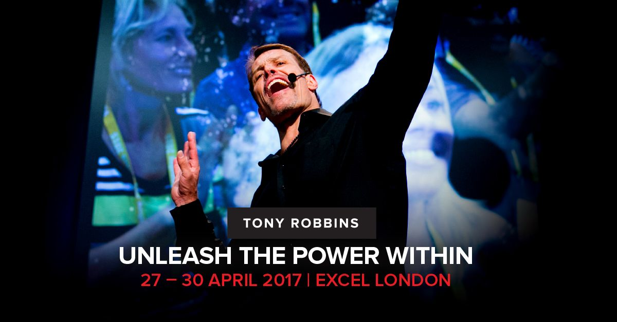 Pin On Tony Robbins Unleash The Power Within London