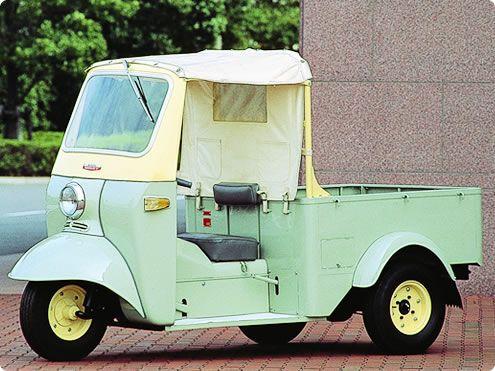 1959 Daihatsu Midget Model Dka Daihatsu City Car Retro Cars