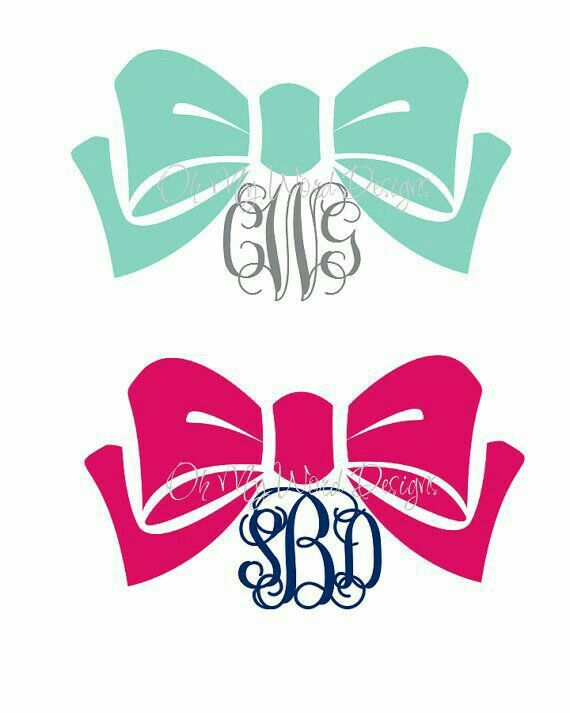 Pin By Nigf Wrightman On Crafts Pinterest Silhouettes Cricut - Cute monogram car decals