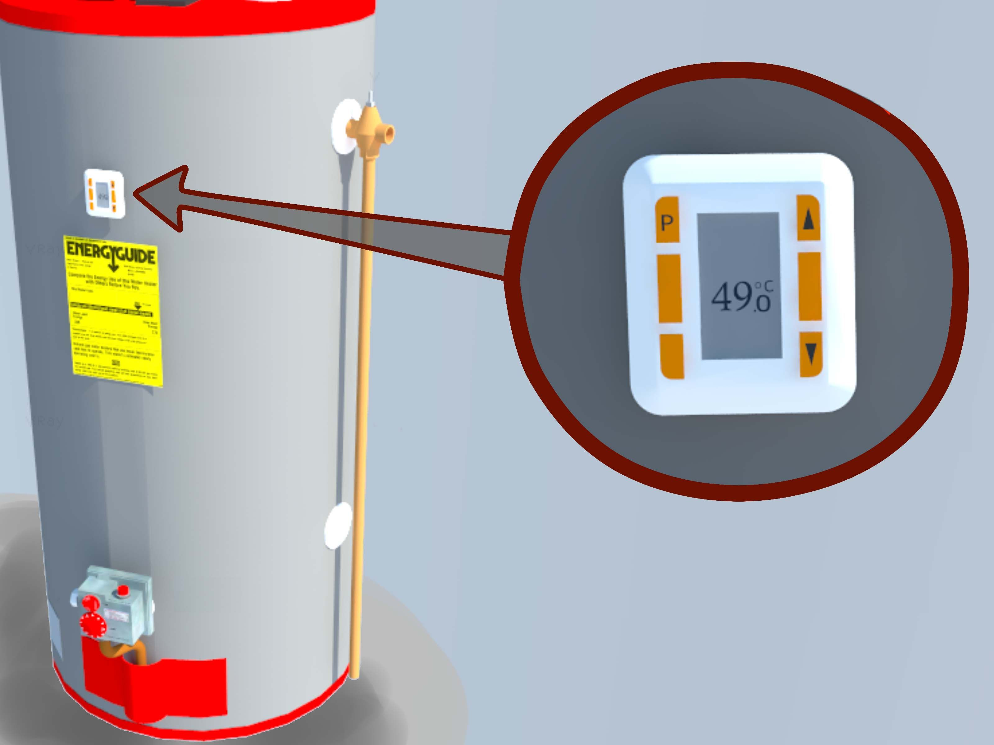 Light a water heater water water faucet lighting