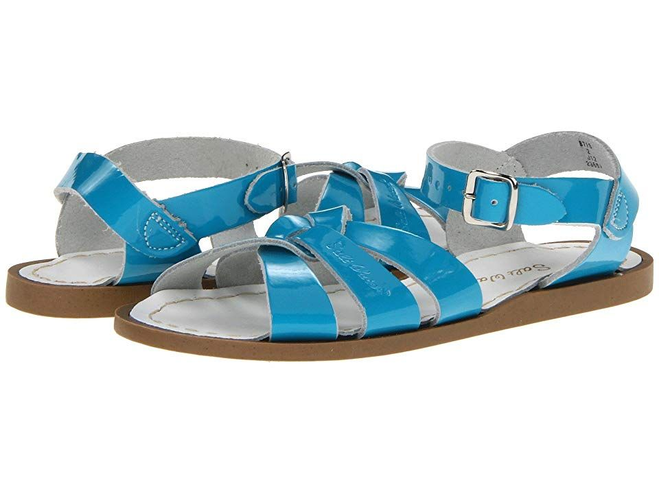 b06d039162c The very Original Salt-Water Sandals. Water-friendly leather upper.  Breathable leather lining and footbed. Ankle strap with buckle closure ...