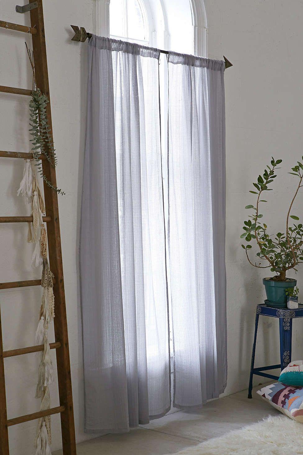 Chloe Gauze Curtain Meditation Room Urban Outfitters Curtains