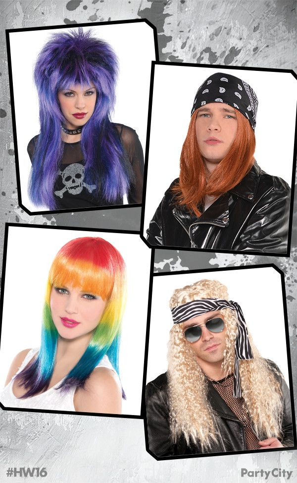 Shop all Halloween wig styles from short to long, black to