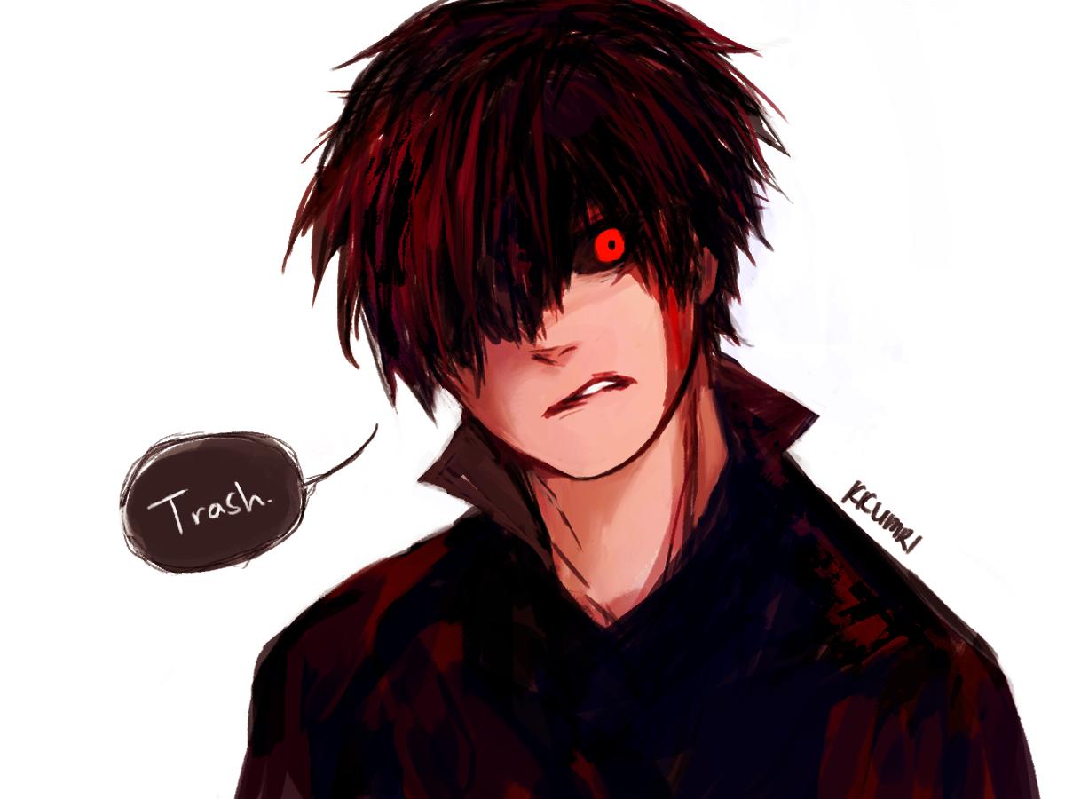 Blood Kaneki Tokyo Ghoul Re Fan Art by kkumri on
