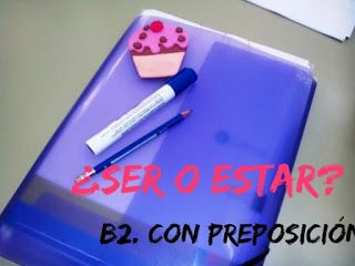 ESPAÑOL EXTRANJEROS. Victoria Monera.: SER-ESTAR