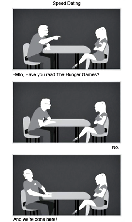 haha. the hunger games