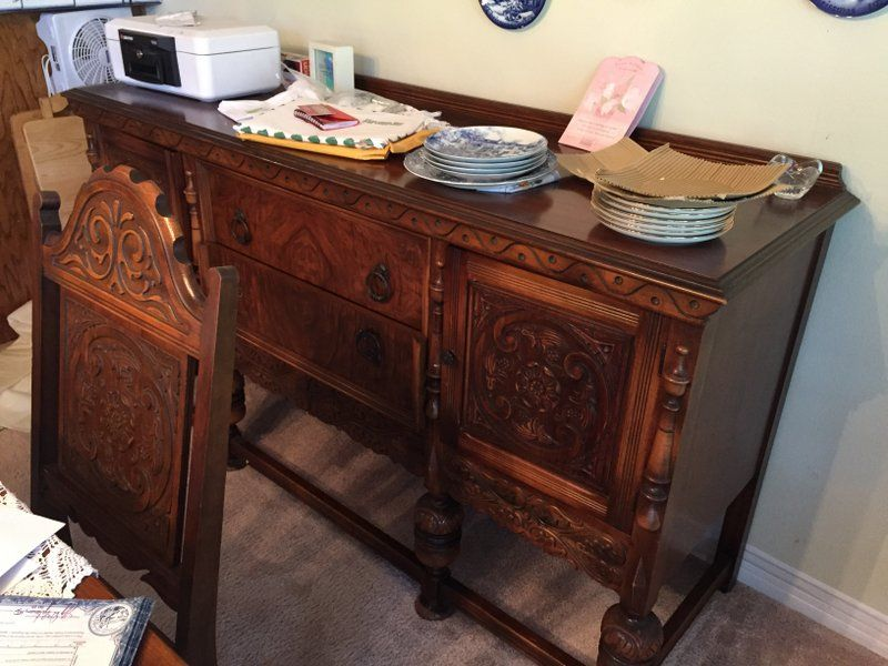 Antique Dining Room Furniture 1930 Custom