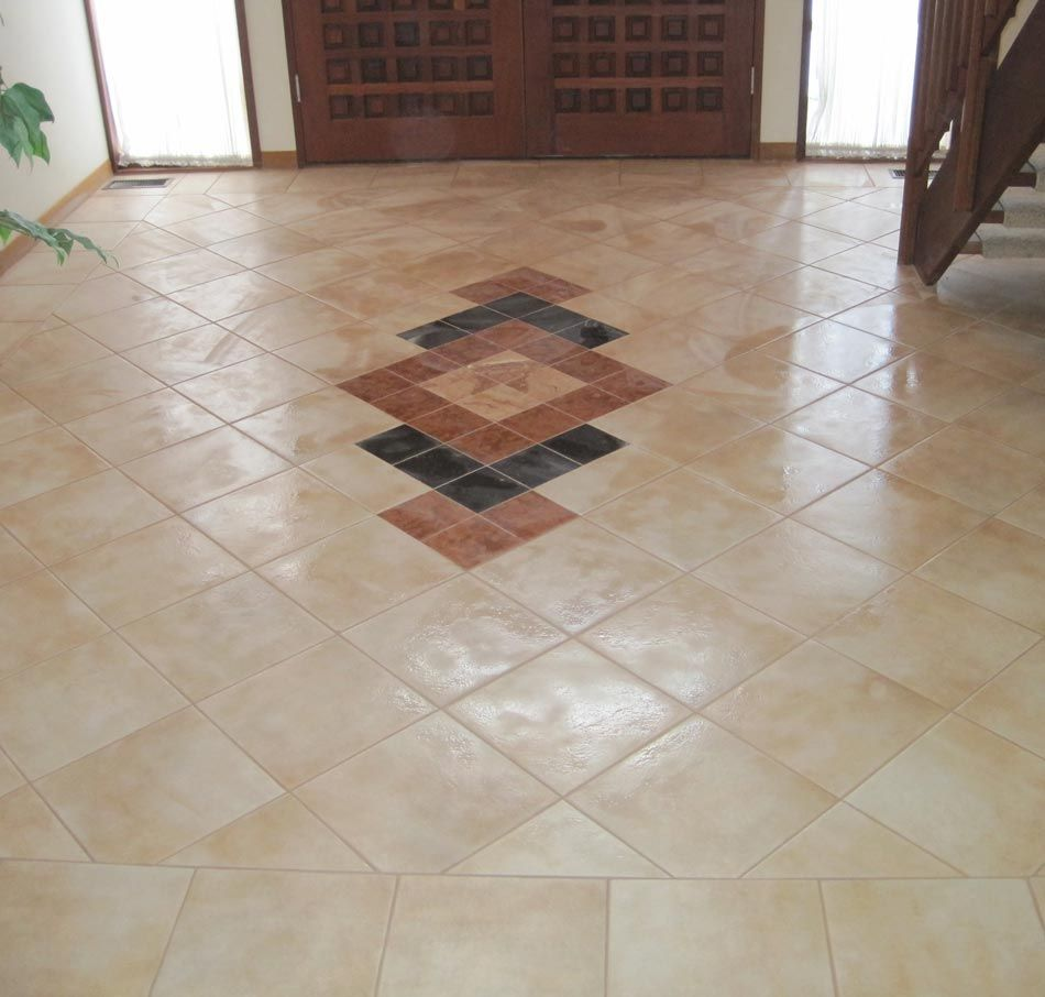 Floor tiles design for entryway google search for Foyer flooring ideas