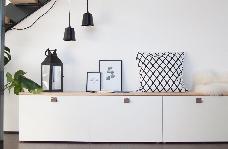Sitzbank Im Flur Aus Ikea Besta Soul Follows Design Sitzbank Ikea Haus Deko