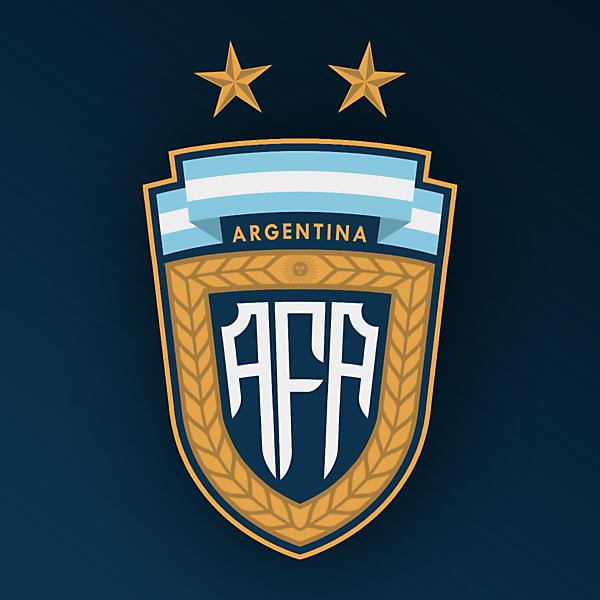 Argentina Crest Redesign By Corinth Escudos De Futebol Camisas De Futebol Futebol