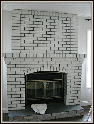 painting brick grout lines - Google Search in 2019 | White ...