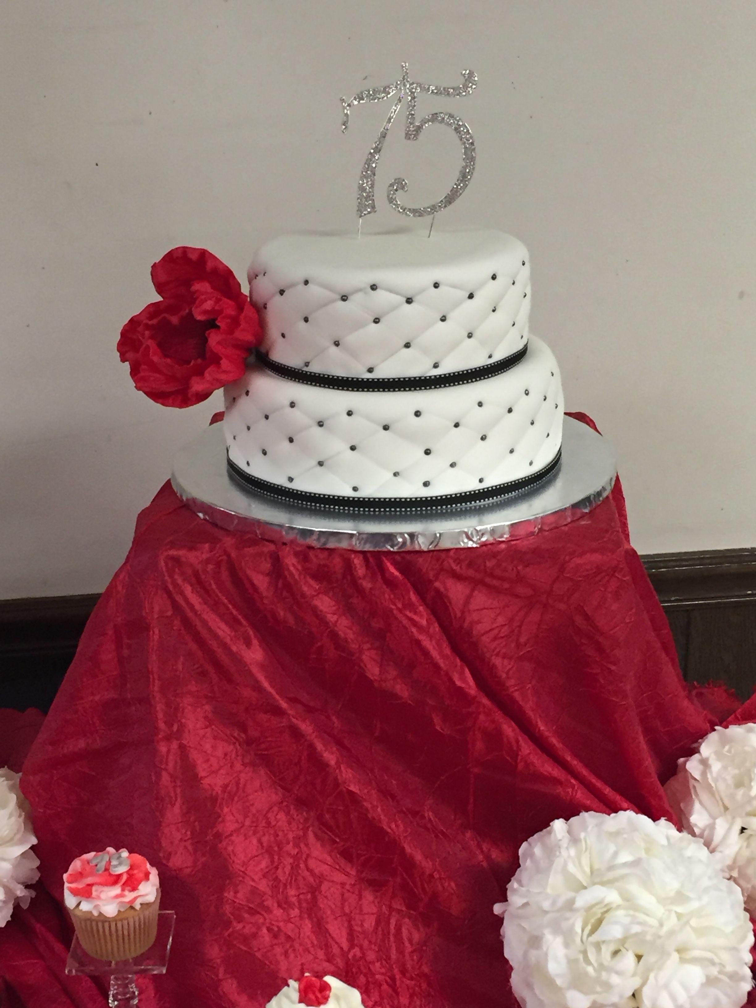 75th birthdates cake cake custom cakes cake designs