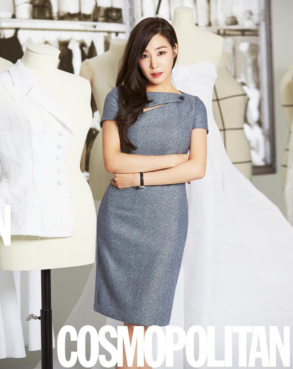 Girls' Generation's Tiffany in Cosmopolitan Korea August 2015