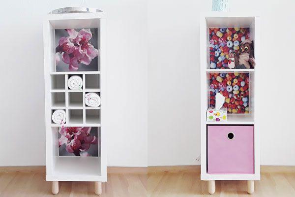 Ikea Regal Kallax neuer look für dein ikea kallax regal ikea kallax and ikea hack