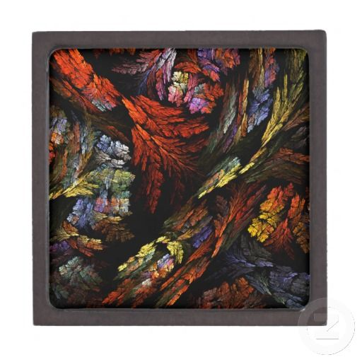 Color Harmony Abstract Art Gift Box Premium Gift Boxes