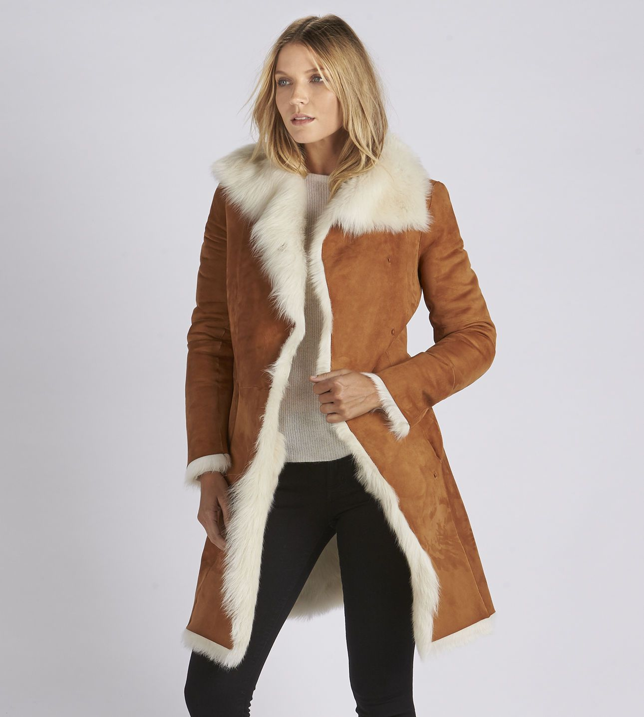 Women's Toscana Shearling Coat | Fur, Luxury and Shearling coat