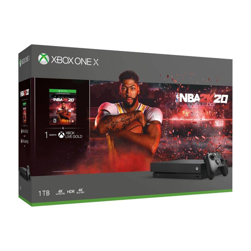 Xbox One X 1tb Nba 2k20 Bundle Xbox Xbox One Xbox Wireless Controller