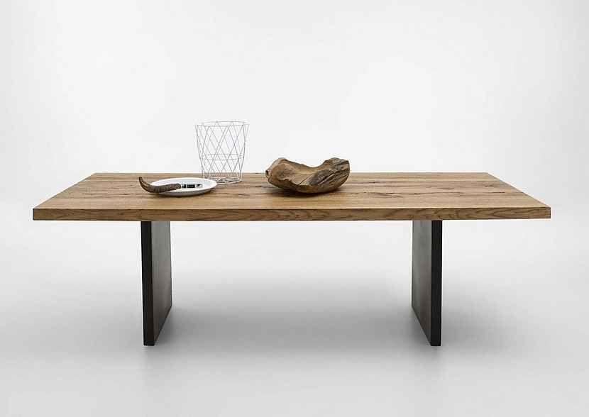 Kasper Wohndesign Esstisch Massiv Holz Eiche Old Bassano Versch Größen Gona