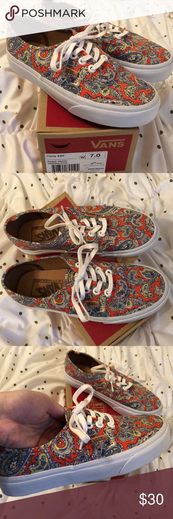 e5f1ab555f Vans Off The Wall Paisley s Vans Off The Wall