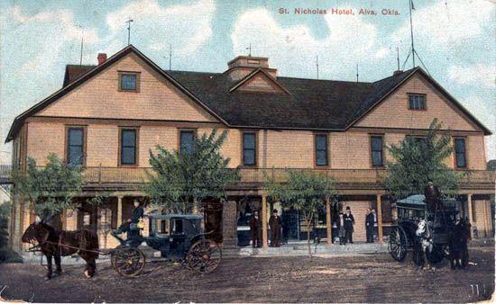 Vintage Photos Of Alva Oklahoma Days At The St Nicholas