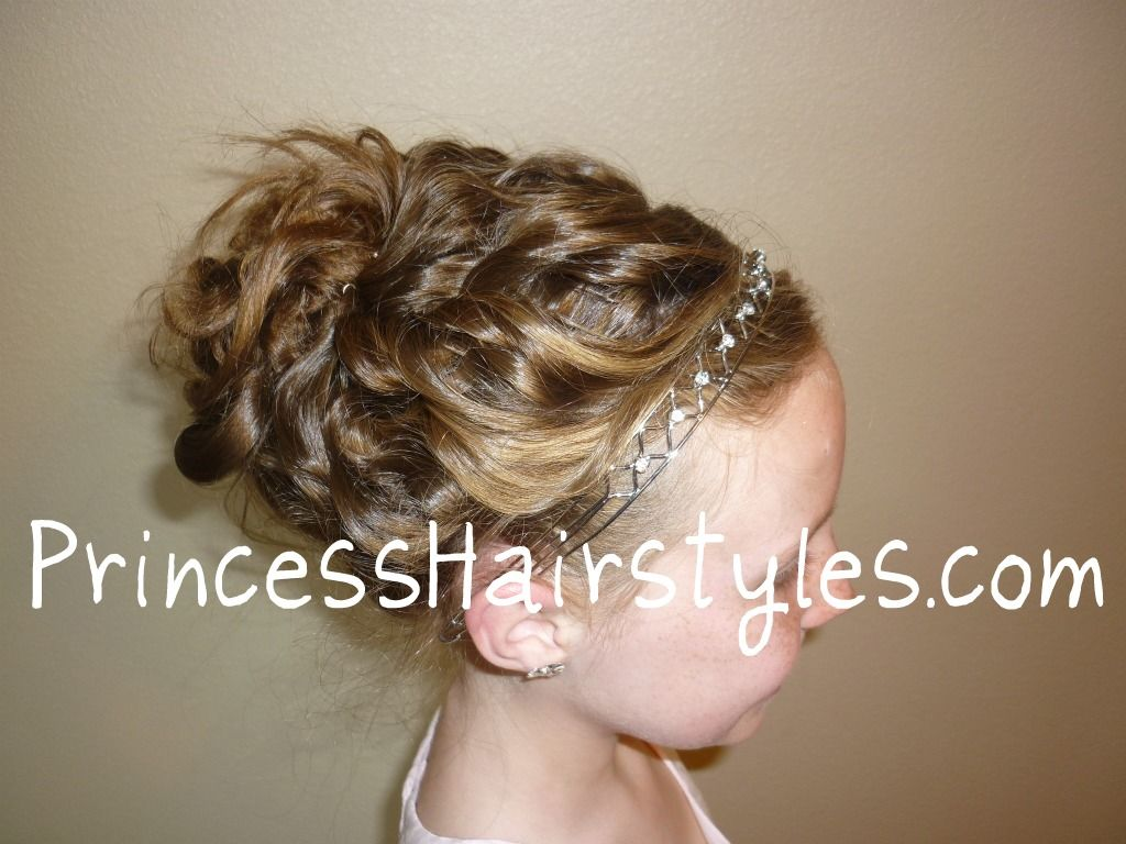best curly hair styles for communion style communion hairstyles 4103