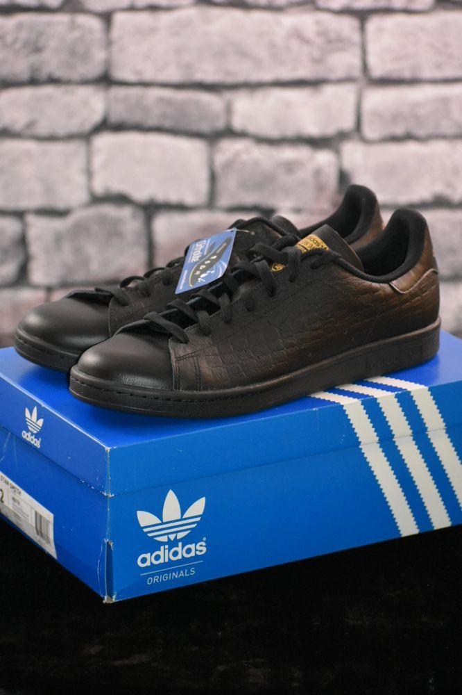 Adidas Originals Stan Smith BLACK/GOLD