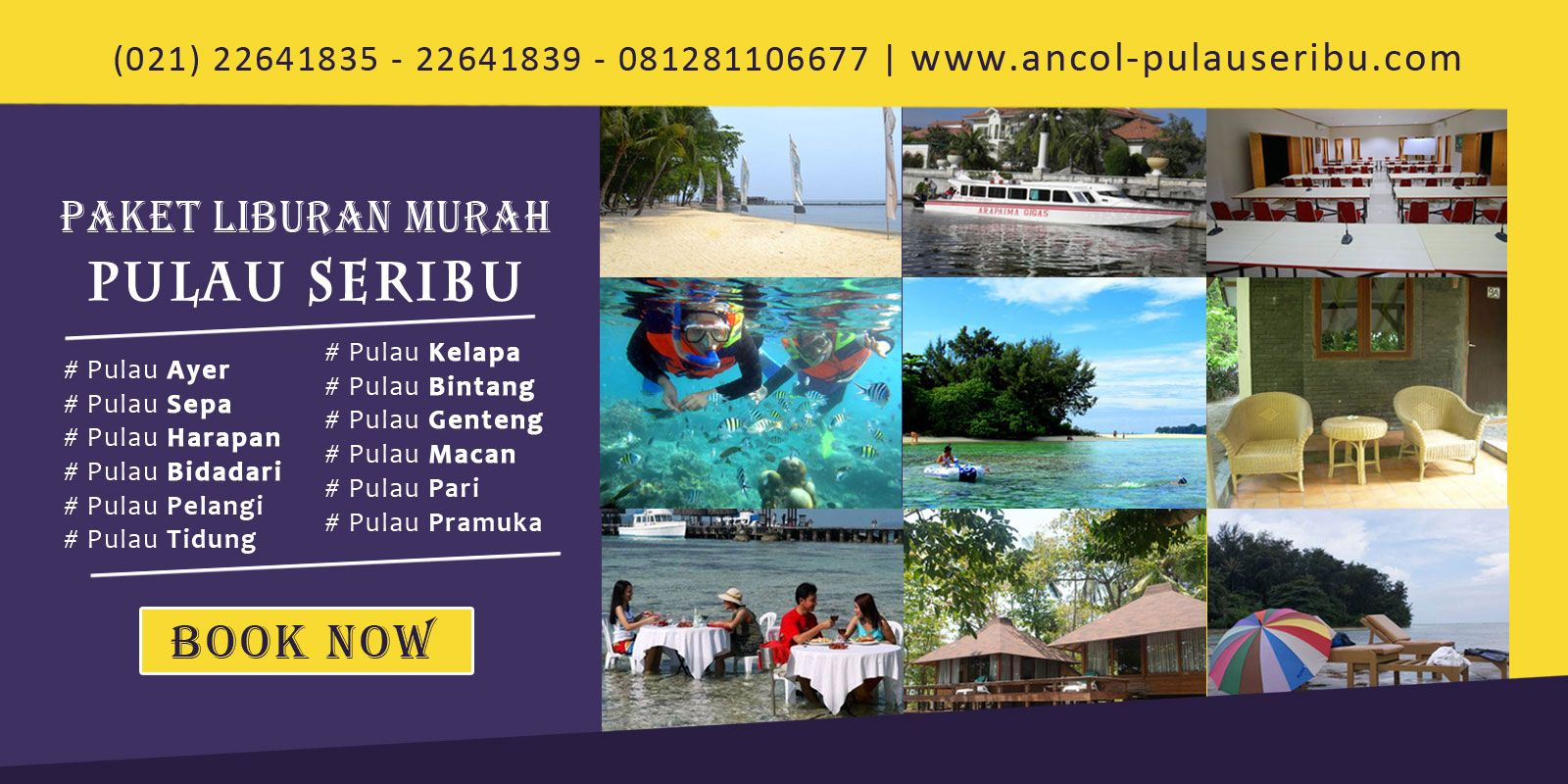 Discovery Holiday (agentravelpulau) di Pinterest