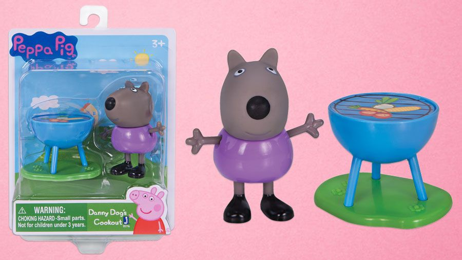 Peppa And Danny Dog Just Love To Paint With The Peppapig 3 Inch