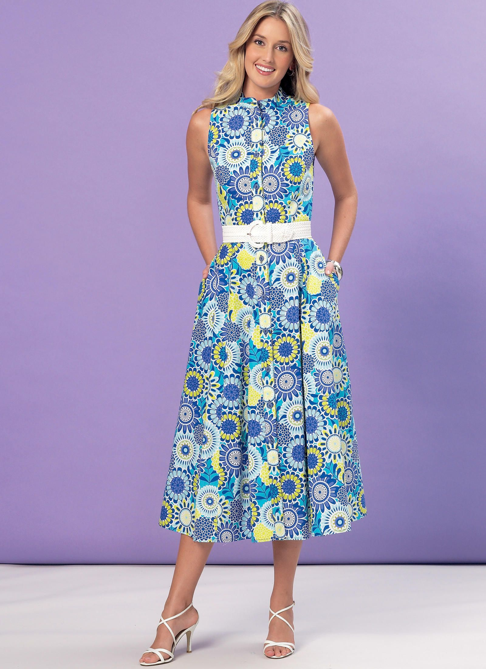 K4155 | Misses\' Shirtdresses Sewing Pattern | Kwik Sew Patterns ...