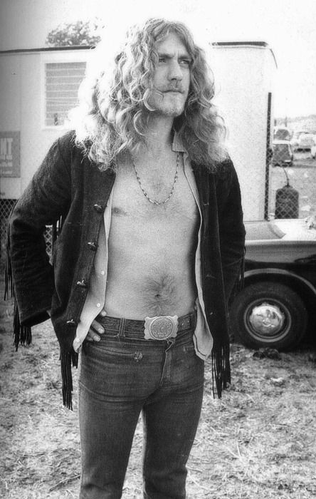 vintage Robert Plant | famous people in strange poses