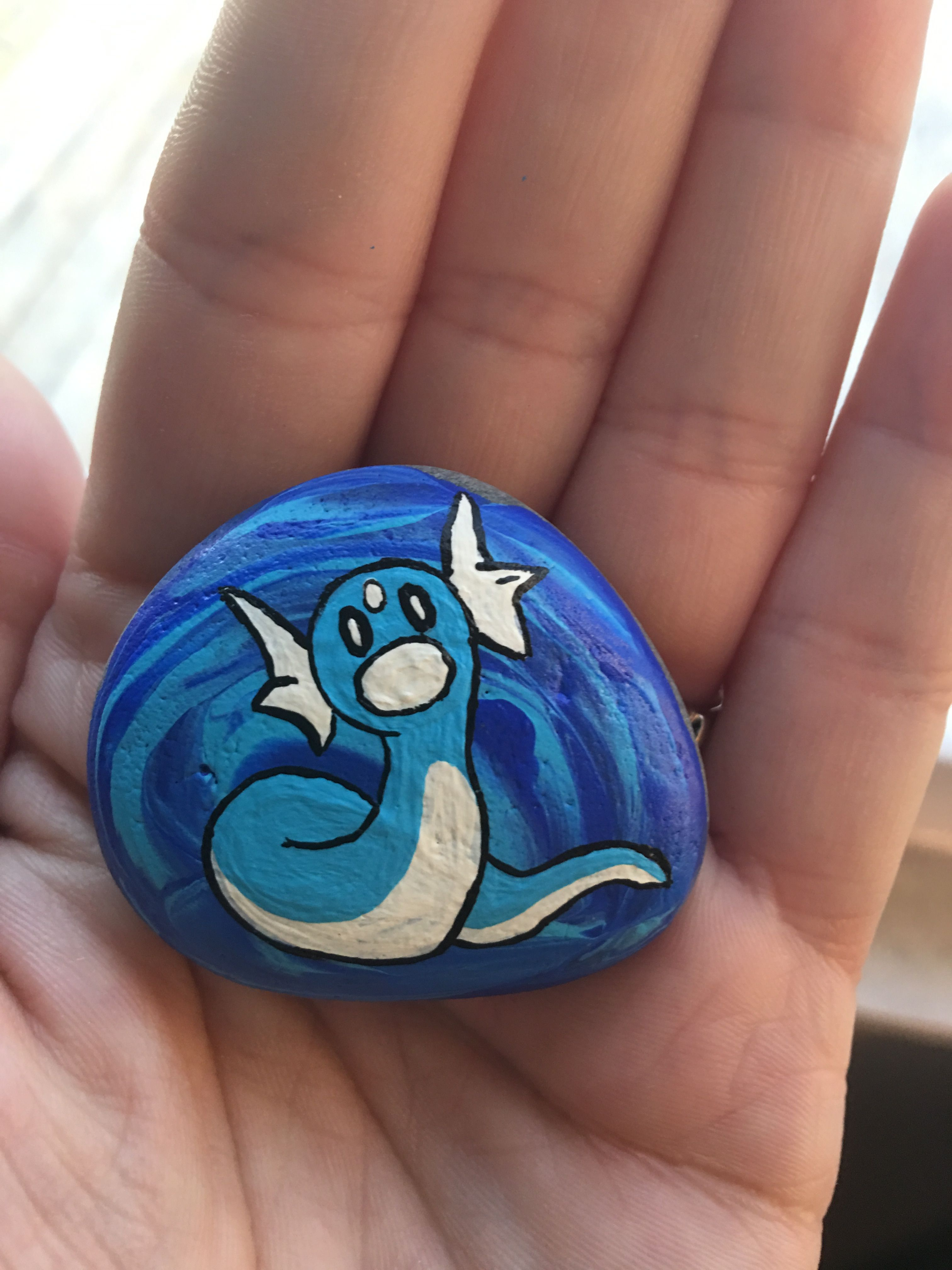 Pokemon Painted Rock Pokemon Painting Rock Painting
