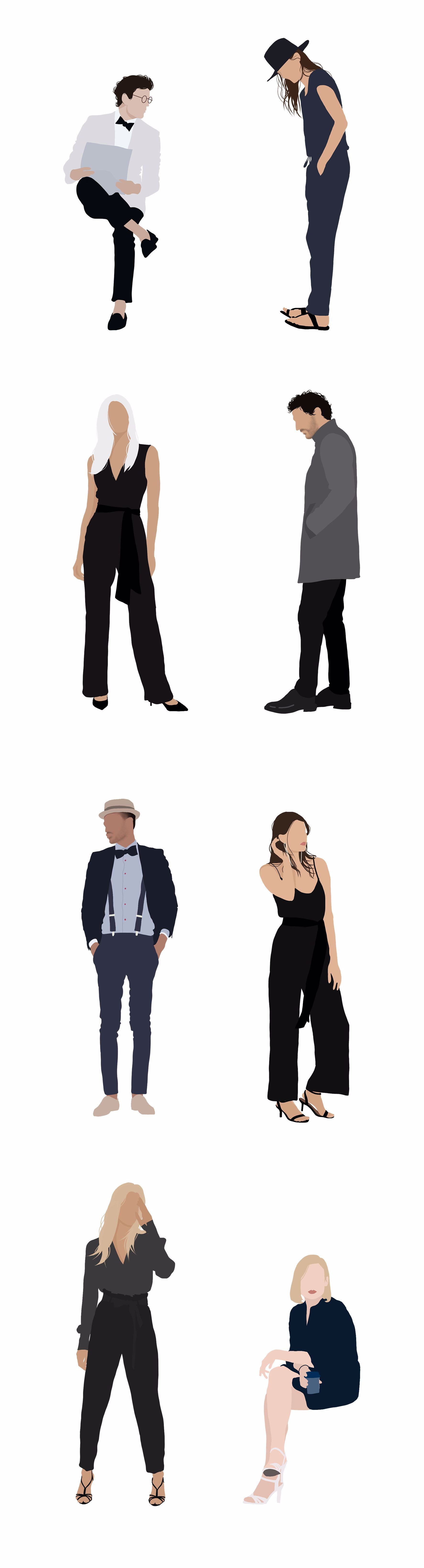 Pin By Alexandra Kautzer On Make Up People Illustration People Png Person Silhouette