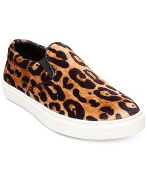 ee9b9284087 Steve Madden Women s Ecentric Flatform Sneakers - Leopard 6.5M ...
