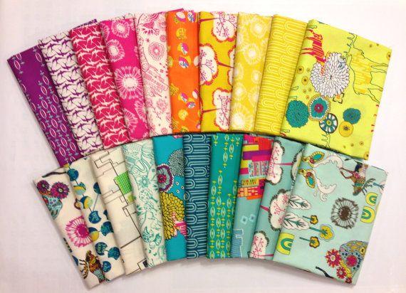 Utopia Bundle    44/45 Wide, 100% Cotton  Designer: Frances Newcombe  Collection: Utopia  Manufacturer: Art Gallery Fabrics    Fat Quarter Bundle