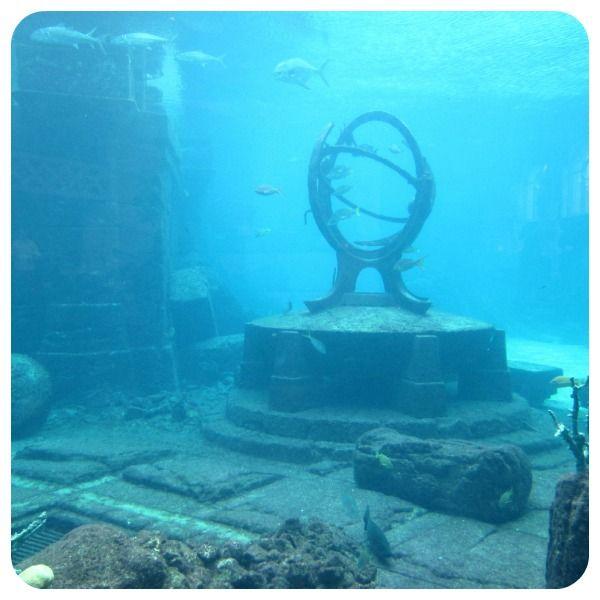 Real Underwater Ruins The Dig Sunken Ruins: ...