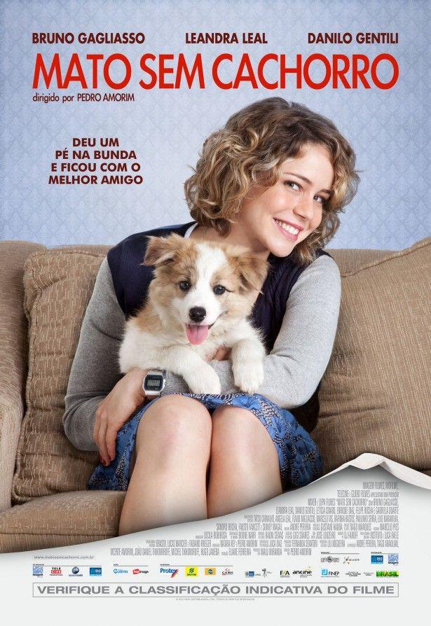 Cartaz de Mato Sem Cachorro com Leandra Leal