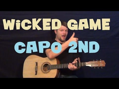 How To Play Wicked Game Chris Isaak Guitar Lesson Youtube
