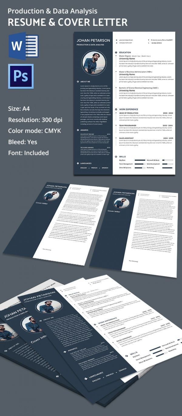 production and data analysis resume mac resume template great for more professional yet attractive - Microsoft Word Resume Templates For Mac